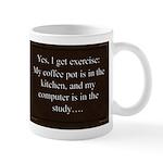 Coffee Exercise Mugs
