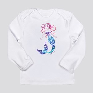 Tribal Mermaid Long Sleeve T-Shirt
