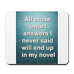 Smart Answers Mousepad
