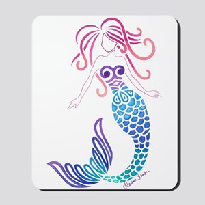 Tribal Mermaid Mousepad