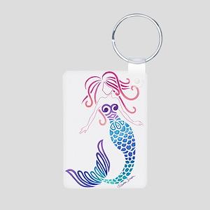 Tribal Mermaid Keychains