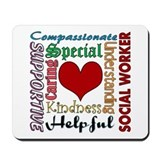 Social worker Classic Mousepad
