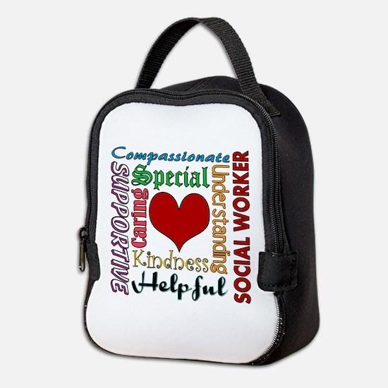 Social Worker Neoprene Lunch Bag