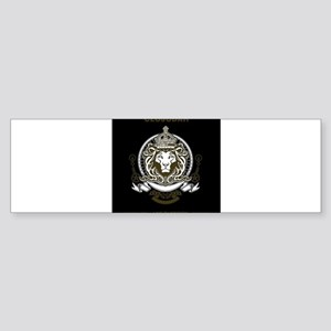CLOJudah King Lion Bumper Sticker