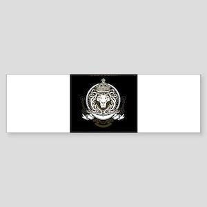 CLOJudah King Lion Bumper Sticker