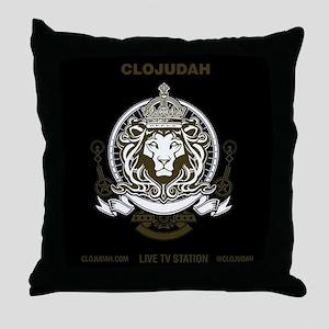 CLOJudah King Lion Throw Pillow