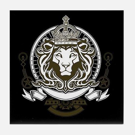 CLOJudah King Lion Tile Coaster