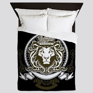 CLOJudah King Lion Queen Duvet