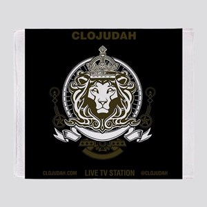 CLOJudah King Lion Throw Blanket