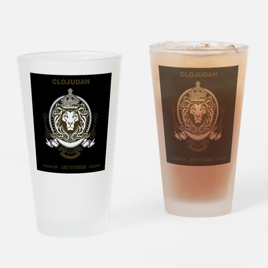 CLOJudah King Lion Drinking Glass