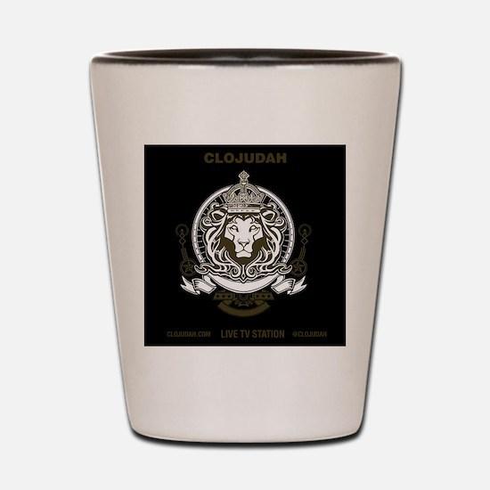 CLOJudah King Lion Shot Glass