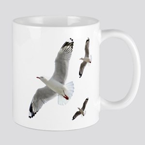3 Gulls in Flight copy Mugs