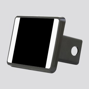 Black solid color Rectangular Hitch Cover