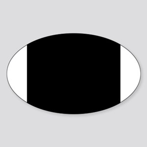 Black solid color Sticker
