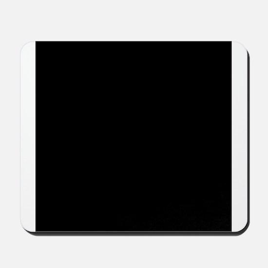 Black solid color Mousepad
