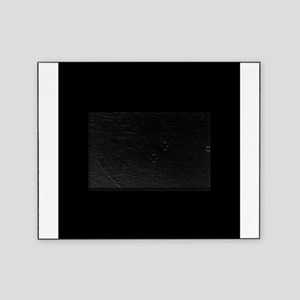 Black solid color Picture Frame