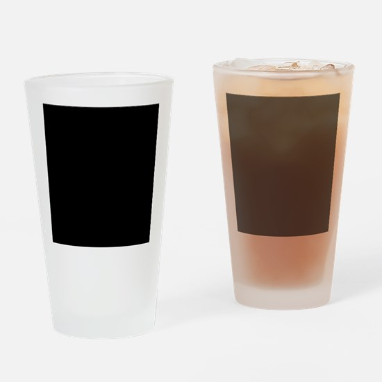 Black solid color Drinking Glass