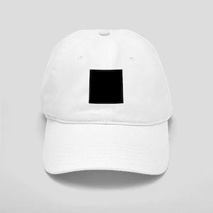 Black solid color Cap