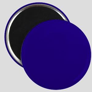 Navy Blue Solid Color Magnets
