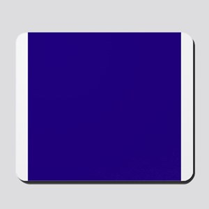 Navy Blue Solid Color Mousepad