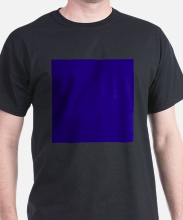 Navy Blue Solid Color T-Shirt
