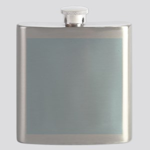 Baby Blue Solid Color Flask