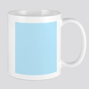 Baby Blue Solid Color Mugs