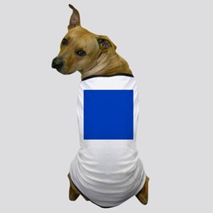 Dark Blue Solid Color Dog T-Shirt