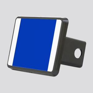 Dark Blue Solid Color Rectangular Hitch Cover