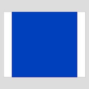 Dark Blue Solid Color Poster Design