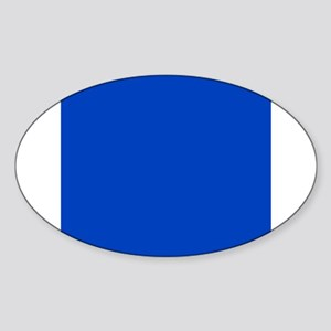 Dark Blue Solid Color Sticker