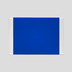 Dark Blue Solid Color Magnets