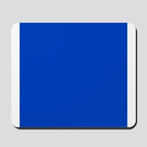 Dark Blue Solid Color Mousepad