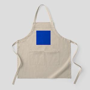 Dark Blue Solid Color Apron