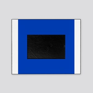 Dark Blue Solid Color Picture Frame