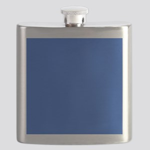 Dark Blue Solid Color Flask