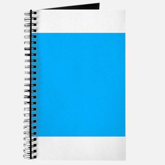 Sky Blue Solid Color Journal