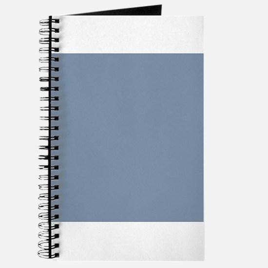 Steel Blue Solid Color Journal