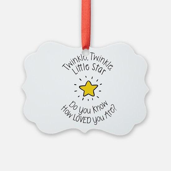 Twinkle, Twinkle Little Star Do Ornament
