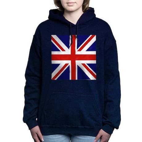 British Flag Women's Hooded Sweatshirt
