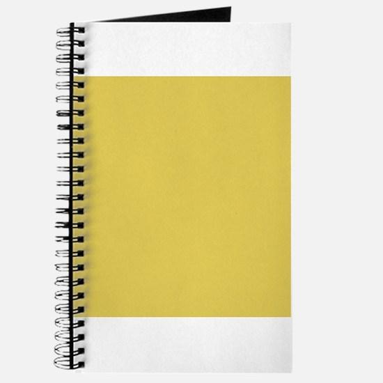 Matte Gold Solid Color Journal