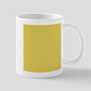 Matte Gold Solid Color Mugs