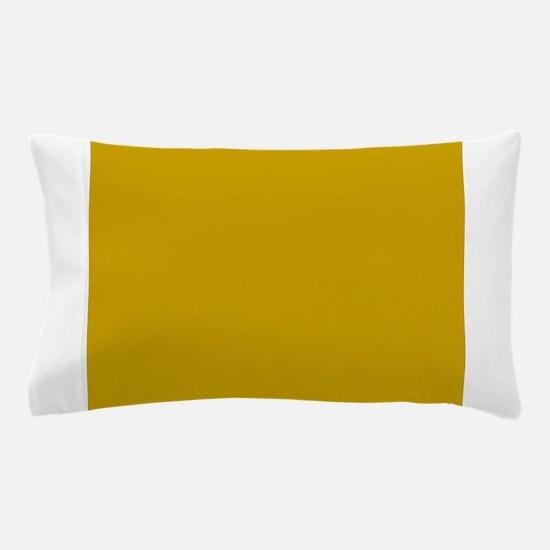 Tan Solid Color Pillow Case