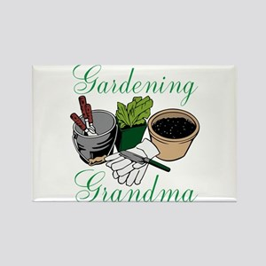Gardening Grandma Magnets