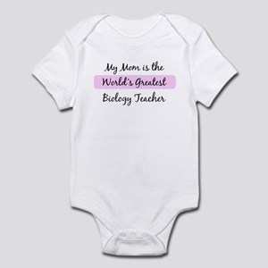 Worlds Greatest Biology Teach Infant Bodysuit