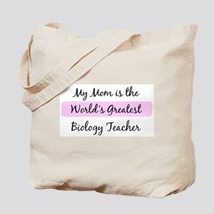Worlds Greatest Biology Teach Tote Bag
