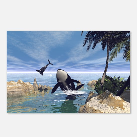 Orcas Postcards (Package of 8)