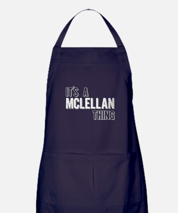 Its A Mclellan Thing Apron (dark)