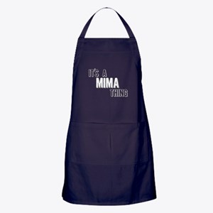 Its A Mima Thing Apron (dark)