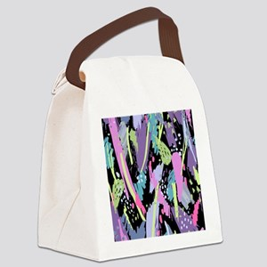 Abstract Paint Canvas Lunch Bag